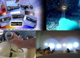 Best underwater torches tested in Apneapassion super test channel
