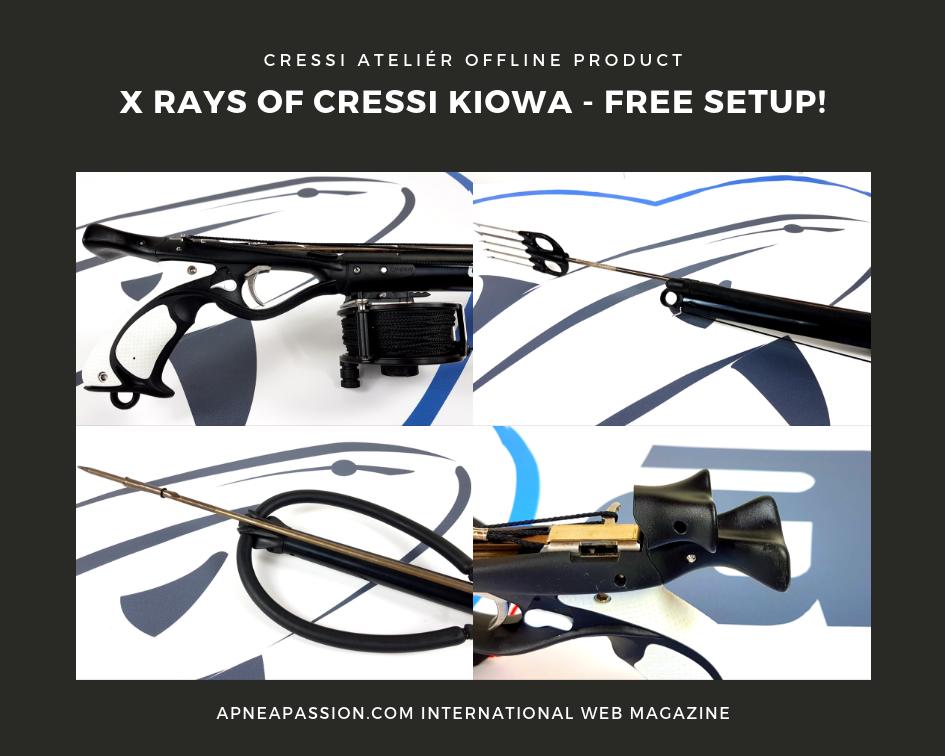 Cressi Kiowa: totally customizable - Apnea Passion Magazine